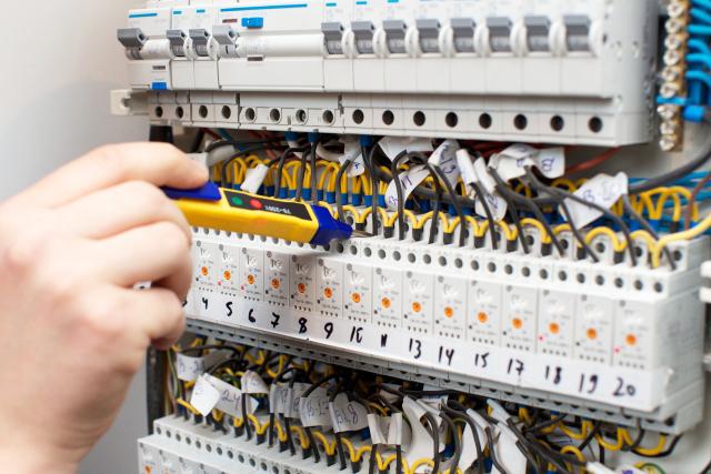 写真:一般住宅電気工事
